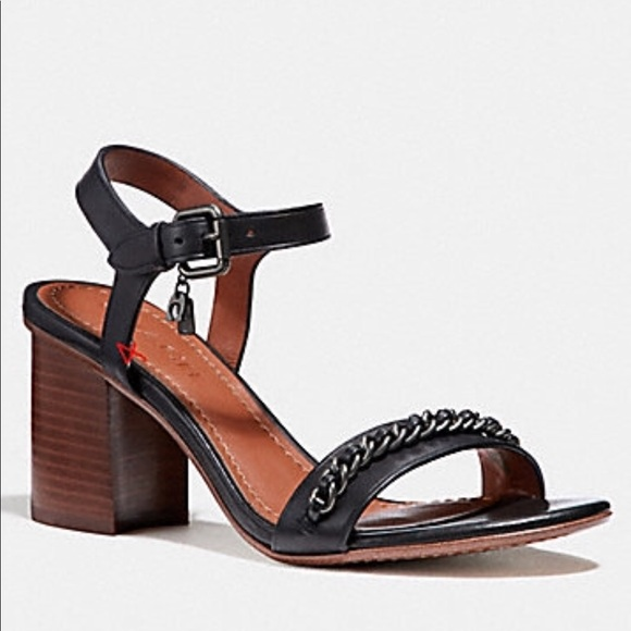 COACH Heel Sandal 9j7MBWYhvu